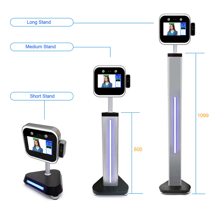 Dynamic Facial Recognition Terminal - Stand Application Example